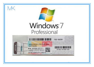 Trung Quốc OEM Win 7 Professional Product Key  For Windows 7 Pro Coa 32/64bit Activation Online nhà cung cấp