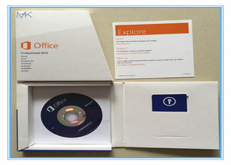 English Version Microsoft Office 2013 Product Key Card Retail Box DVD