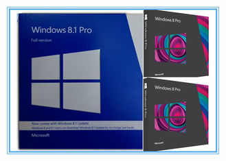 Trung Quốc English Windows 8.1 Pro Pack 32 Bit 64 Bit Retail Box Windows 8.1 Product Key Code nhà cung cấp