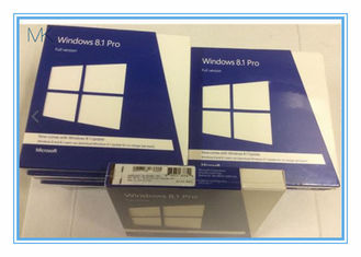 Trung Quốc 32 / 64 Bits Windows 8.1 Retail Version DVD Professional Windows Pro Retail nhà cung cấp