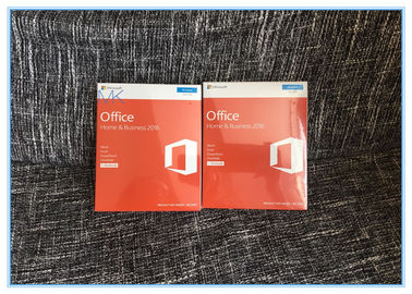 Trung Quốc Genuine Sealed Box Microsoft Office Home and business 2016 FPP Product Key nhà cung cấp