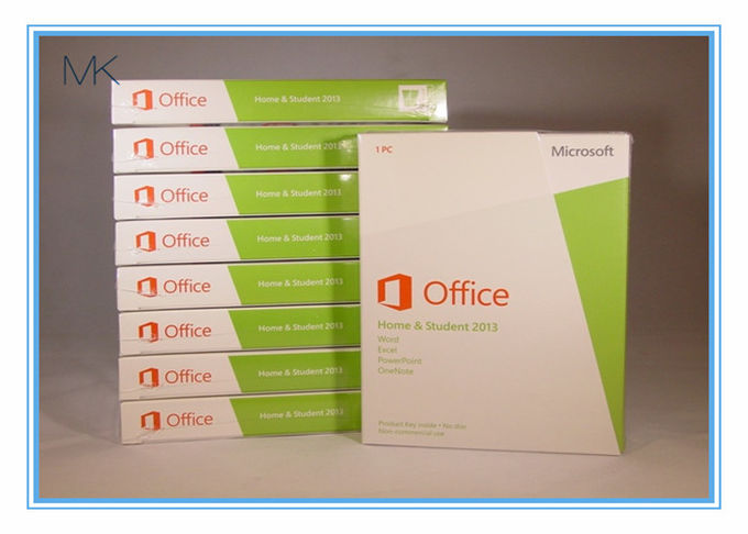 32 / 64-Bit Microsoft Windows Software MS Office 2013 Oem Product Key For Home And Student
